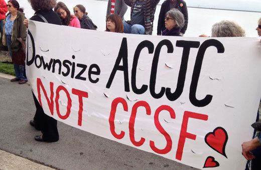 Downsize ACCJC, Not CCSF